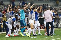 Belo Horizonte (MG), 16/10/2019 - Cruzeiro-São Paulo - Reservas comemoram fim da dramatica Partida entre Cruzeiro e São Paulo, válida pela 26a rodada do Campeonato Brasileiro no Estadio Mineirão nesta quarta feira (16) em Belo Horizonte