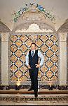 Restaurateur Barton G photographed at The Villa by Barton G