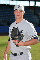 Staten Island Yankees Nick Peterson poses for a photo before a NY-Penn League game at Russell Diethrick Park on August 13, 2006 in Jamestown, New York.  (Mike Janes/Four Seam Images)