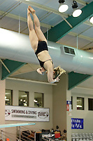 SAN ANTONIO, TX - FEBRUARY 27, 2009: The Northern Arizona University Lumberjacks compete during Day 3 of the Western Athletic Conference Swimming & Diving Championships at the Palo Alto College Natatorium. (Photo by Jeff Huehn)