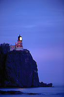 Split Rock Lighthouse, Split Rock Lighthouse State Park near Castle Danger, Minnesota, on the north shore of Lake Superior.