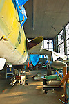 Cradle of Aviation, behind the scenes at Mitchell Field restoration aircraft hangar