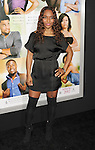 """HOLLYWOOD, CA - FEBRUARY 09: Rozonda """"Chilli"""" Thomas arrives at the """"Think Like A Man"""" Los Angeles Premiere at the ArcLight Cinemas Cinerama Dome on February 9, 2012 in Hollywood, California."""