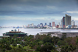 PHILIPPINES, Manila, view of Manila from the Softel Metripole Hotel