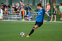 Kansas City, MO - Saturday May 27, 2017: Yael Averbuch during a regular season National Women's Soccer League (NWSL) match between FC Kansas City and the Washington Spirit at Children's Mercy Victory Field.