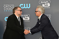 Guillermo del Toro &amp; Bradley Whitford at the 23rd Annual Critics' Choice Awards at Barker Hangar, Santa Monica, USA 11 Jan. 2018<br /> Picture: Paul Smith/Featureflash/SilverHub 0208 004 5359 sales@silverhubmedia.com