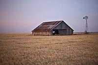 Abandoned Barn w/ Windmill in Alva, OK