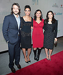 Diego Luna Rosario Dawson Maria Teresa Kumar and America Ferrera attends the Cesar Chavez Premiere at The Newseum on March 18, 2014 in Washington, D.C., hosted by Voto Latino