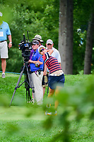 Hyo Joo Kim (KOR) watches her tee shot on 8 during Thursday's first round of the 72nd U.S. Women's Open Championship, at Trump National Golf Club, Bedminster, New Jersey. 7/13/2017.<br /> Picture: Golffile | Ken Murray<br /> <br /> <br /> All photo usage must carry mandatory copyright credit (&copy; Golffile | Ken Murray)