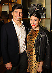 Valerie and Will Dittner at a special evening in honor of Alley Theatre's Wild Things at the Louis Vuitton store in The Galleria Wednesday Sept. 30,2015.(Dave Rossman photo)