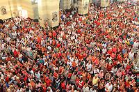 RIO DE JANEIRO, RJ, 20.01.2014 - DON ORANI / DIA DE SÃO SEBASTIÃO / PADROEIRO / RJ- O arcebispo do Rio de Janeiro e futuro cardeal, celebra a missa, no dia de São Sebastião, padroeiro da cidade do Rio de Janeiro,na igreja dos capuchinhos, na manhã desta segunda-feira (20), na Tijuca, zona norte da cidade do Rio de Janeiro, na  desta . (Foto: Marcelo Fonseca / Brazil Photo Press).