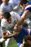 Tommaso Allan Italy<br /> Roma 16-03-2019 Stadio Olimpico<br /> Rugby Six Nations tournament 2019  <br /> Italy - France <br /> Foto Antonietta Baldassarre / Insidefoto