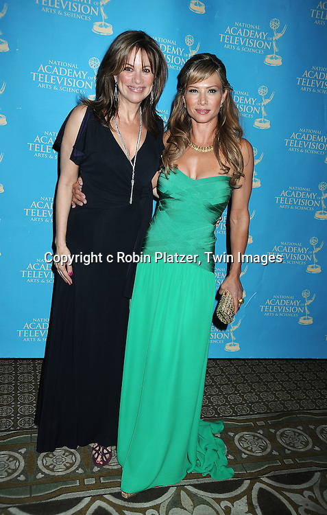 Nancy Lee Grahn and Sarah Brown attending the 37th Daytime Emmy Awards Creative Arts & Entertainment Awards on JUne 25, 2010 at the Bonaventure Hotel in Los Angeles.