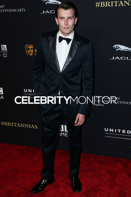 BEVERLY HILLS, CA, USA - OCTOBER 30: Cameron Moir, Joanna Janetakis arrives at the 2014 BAFTA Los Angeles Jaguar Britannia Awards Presented By BBC America And United Airlines held at The Beverly Hilton Hotel on October 30, 2014 in Beverly Hills, California, United States. (Photo by Xavier Collin/Celebrity Monitor)