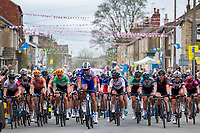 Picture by Alex Whitehead/SWpix.com - 04/05/2018 - Cycling - 2018 Asda Women's Tour de Yorkshire - Stage 1: Barnsley to Ilkley.
