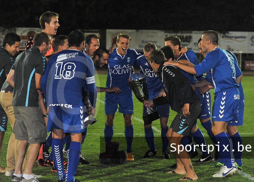 KSV Rumbeke : Rumbeke wint in extremis de Mandel Cup 2013<br /> foto VDB / Bart Vandenbroucke
