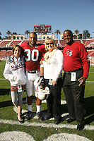 18 November 2006: Marcus McCutcheon during Stanford's 30-7 loss to Oregon State at Stanford Stadium in Stanford, CA.
