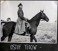 BNPS.co.uk (01202 558833)<br /> Pic: Jones&Jacob/BNPS<br /> <br /> LSSAH officer Hans Tidow - later killed 12/9/1939 in the opening days of WW2.<br /> <br /> Springtime for Hitler...Chilling album of pictures taken by one of Hitlers bodyguards illustrates the Nazi dictators rise to power.<br /> <br /> An unseen album of photographs taken by a member of Hitlers own elite SS bodyguard division in the years leading up to the start of WW2.<br /> <br /> The 1st SS Panzer Division 'Leibstandarte SS Adolf Hitler' or LSSAH began as Adolf Hitler's personal bodyguard in the 1920's responsible for guarding the Führer's 'person, offices, and residences'.