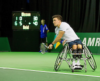Februari 12, 2015, Netherlands, Rotterdam, Ahoy, ABN AMRO World Tennis Tournament, Gordon Reid (GBR)<br /> Photo: Tennisimages/Henk Koster