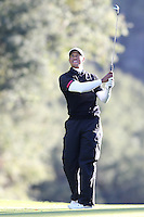 12/07/13 Thousand Oaks, CA: Tiger Woods  during the third round of the 2013 Northwestern Mutual World Challenge played at Sherwood Country Club. The yearly event benefits the Tiger Woods Foundation.
