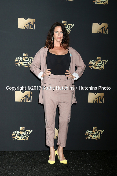 LOS ANGELES - MAY 7:  Amy Landecker at the MTV Movie and Television Awards on the Shrine Auditorium on May 7, 2017 in Los Angeles, CA