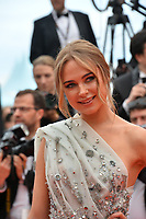 """CANNES, FRANCE. May 20, 2019: Kimberley Garner at the gala premiere for """"La Belle Epoque"""" at the Festival de Cannes.<br /> Picture: Paul Smith / Featureflash"""