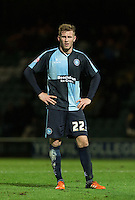 Jason McCarthy of Wycombe Wanderers during the Sky Bet League 2 match between Yeovil Town and Wycombe Wanderers at Huish Park, Yeovil, England on 24 November 2015. Photo by Andy Rowland.