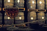 France/DOM/Martinique/Sainte Luce/Distillerie Trois-Rivières/Rhumerie Duquesne: Dégustation dans les chais