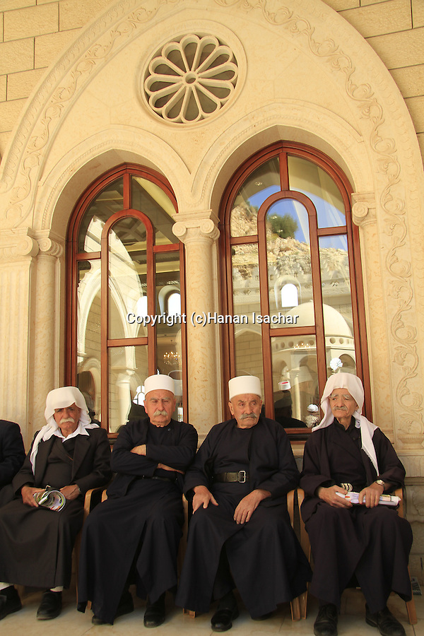 Israel, Lower Galilee, the annual Druze pilgrimage to Nabi Shueib, location of the tomb of Moses' father-in-law Jethro
