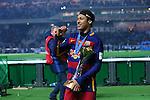 Neymar (Barcelona), <br /> DECEMBER 20, 2015 - Football / Soccer : <br /> FIFA Club World Cup Japan 2015 <br /> award ceremony  <br /> at Yokohama International Stadium in Kanagawa, Japan.<br /> (Photo by Yohei Osada/AFLO SPORT)
