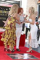 LOS ANGELES - MAY 4:  Goldie Hawn, Sister, Kate Hudson at the Kurt Russell and Goldie Hawn Star Ceremony on the Hollywood Walk of Fame on May 4, 2017 in Los Angeles, CA