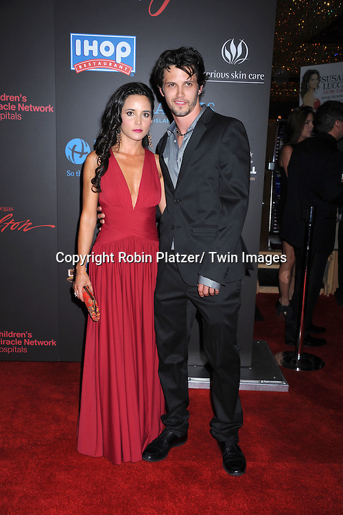 Nathan Parsons and guest  arriving at the 38th Annual Daytime Emmy Awards  on June 19, 2011 at The Las Vegas Hilton in Las Vegas Nevada. ..