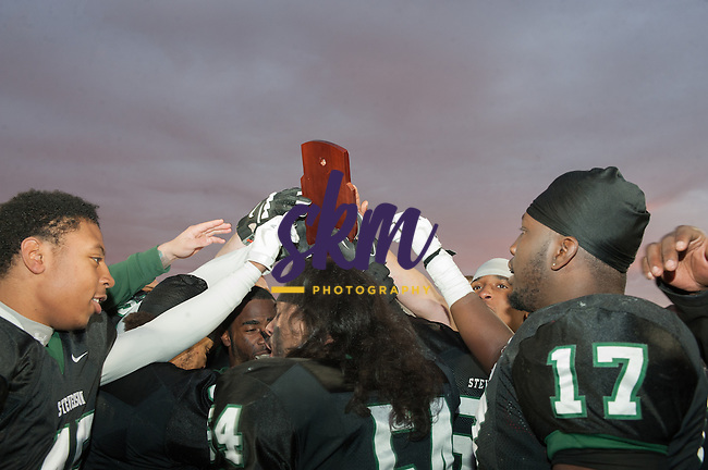 Stevenson football captured the 2014 ECAC DIII Southeast Bowl Championship as they defeated Bethany 29-7 Saturday afternoon at Mustang Stadium in Owings Mills.