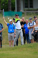 Guido Migliozzi (ITA) on the 7th during Round 2 of the Aberdeen Standard Investments Scottish Open 2019 at The Renaissance Club, North Berwick, Scotland on Friday 12th July 2019.<br /> Picture:  Thos Caffrey / Golffile<br /> <br /> All photos usage must carry mandatory copyright credit (© Golffile | Thos Caffrey)