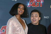"LOS ANGELES - SEP 18:  Gabrielle Union, Kodi Lee at the ""America's Got Talent"" Season 14 Finale Red Carpet at the Dolby Theater on September 18, 2019 in Los Angeles, CA"