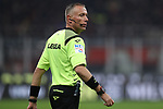 Thew referee Paolo Valeri during the Coppa Italia match at Giuseppe Meazza, Milan. Picture date: 13th February 2020. Picture credit should read: Jonathan Moscrop/Sportimage