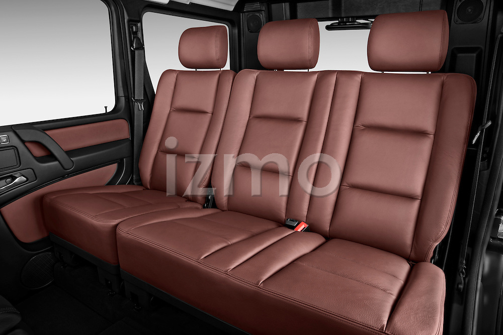 2013 Mercedes-Benz G-Class G550 SUV Rear Seat Stock Photo | izmostock