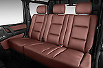 2013 Mercedes-Benz G-Class G550 SUV Rear Seat Stock Photo