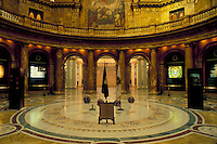 Boston, State Capitol, State House, MA, Massachusetts, Interior of the State House in the capital city of Boston.