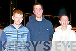 NIGHT AT THE DOGS: Having a great time Kingdom Greyhound Stadium Night at the Dogs on Friday l-r: Martin O'Connor, Asdee, Paudie O'Connor, Tarbert and Seamus Cox, Ballylongford..