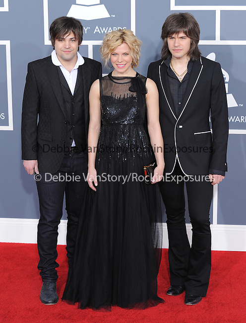 The Band Perry attends The 54th Annual GRAMMY Awards held at The Staples Center in Los Angeles, California on February 12,2012                                                                               © 2012 DVS / Hollywood Press Agency
