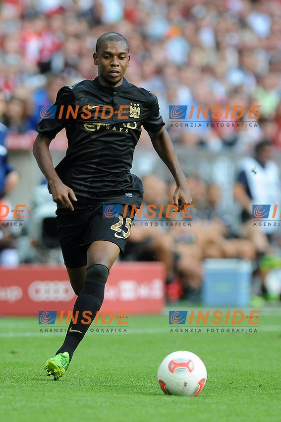 FERNANDINHO (Manchester City)<br /> 31.07.2013, Allianz Arena, Monaco<br /> Audi Cup 2013, Manchester City vs AC Milan<br /> Foto Wolfgang Stuetzle / Insidefoto / EXPA<br /> Only Italy