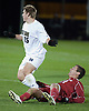 October 14, 2009:  NCAA Soccer match between the Notre Dame Fighting Irish and the Indiana Hoosiers at Notre Dame Alumni Filed in South Bend, IN.  Indiana defeated Notre Dame 3-0...