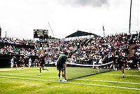 Ambience<br /> <br /> Tennis - The Championships Wimbledon  - Grand Slam -  All England Lawn Tennis Club  2013 -  Wimbledon - London - United Kingdom - Friday 28th June  2013. <br /> &copy; AMN Images, 8 Cedar Court, Somerset Road, London, SW19 5HU<br /> Tel - +44 7843383012<br /> mfrey@advantagemedianet.com<br /> www.amnimages.photoshelter.com<br /> www.advantagemedianet.com<br /> www.tennishead.net