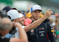Pierre GASLY (FRA) (ASTON MARTIN RED BULL RACING) during the Formula 1 Rolex British Grand Prix 2019 at Silverstone Circuit, Towcester, England on 14 July 2019. Photo by Vince  Mignott.