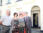 1st Prize Winner Ciarán Brennan of St.Josephs School with Transition Year Coordinator, Mr Kelly, Siobhan Woods from Beverage Business Solutions and Gordan Hatch from the Drogheda Leader at the Presentation of prizes for the Red Hot Writers Course..Photo NEWSFILE/Jenny Matthews.(Photo credit should read Jenny Matthews/NEWSFILE)....This Picture has been sent you under the condtions enclosed by:.Newsfile Ltd..The Studio,.Millmount Abbey,.Drogheda,.Co Meath..Ireland..Tel: +353(0)41-9871240.Fax: +353(0)41-9871260.GSM: +353(0)86-2500958.email: pictures@newsfile.ie.www.newsfile.ie.FTP: 193.120.102.198.