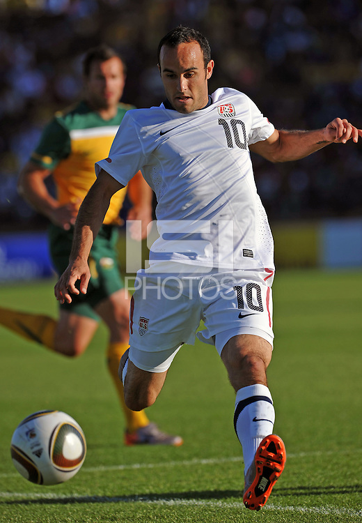 Landon Donovan of USA....Football - International Friendly - USA v Australia - Ruimsig Stadium