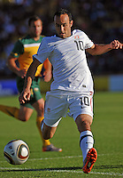 Landon Donovan of USA....Football - International Friendly - USA v Australia - Ruimsig Stadium