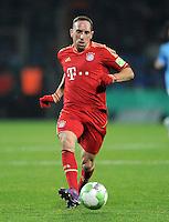Fussball DFB Pokal:  Saison   2011/2012  Achtelfinale  20.12.2011 VfL Bochum - FC Bayern Muenchen  Franck Ribery (FC Bayern Muenchen)