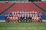 FRISCO, TX - OCTOBER 2: FC Dallas team photo at Toyota Stadium on October 2, 2013 in Frisco, Texas. Photo by Rick Yeatts